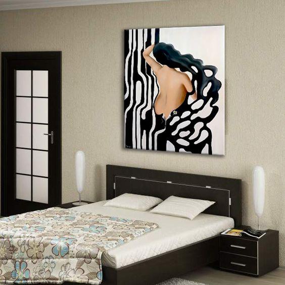 Huisdecoratie - Trend schilderij slaapkamer ...