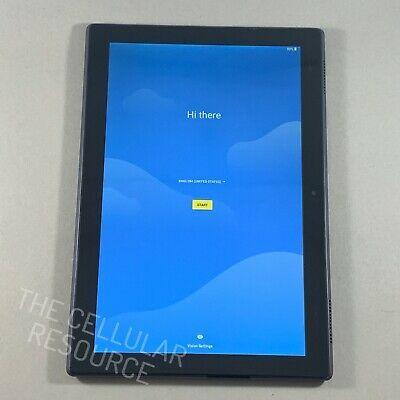 Ebay Link Ad Lenovo Tab 4 8 Plus Tb 8704v 16gb Black Verizon Unlocked 10in Tablet In 2020 Tablet Lenovo Verizon Wireless