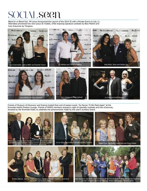 JM Lexus Blend In or Blend Out event featured in Think Magazine!