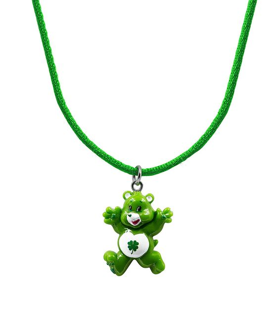 Loving this Good Luck Bear Hand-Painted Pendant Necklace on #zulily! #zulilyfinds