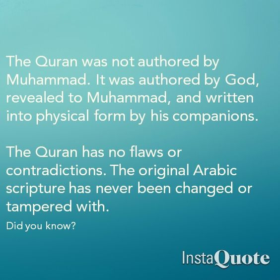 What is the Quran? Allah describes the Quran in the Quran ...