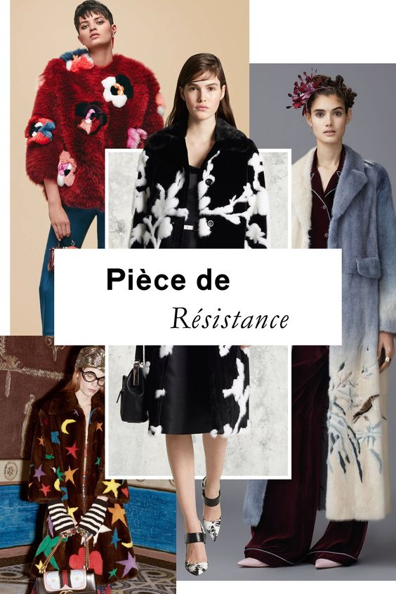 Pre-Fall's furs got a major upgrade in the form of sumptuous, hand-pieced designs, from Valentino's delicate flora and fauna to Fendi's punchy Technicolor blooms.