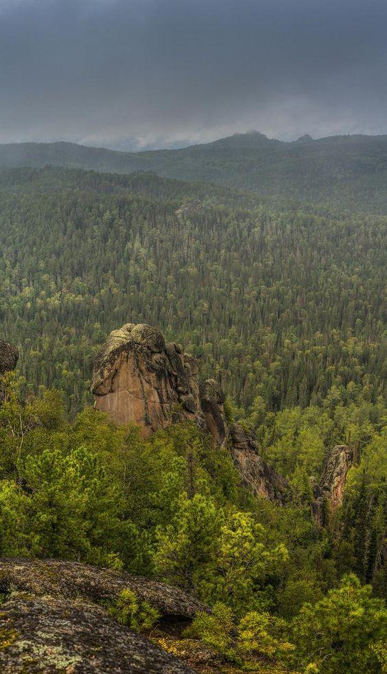 Блог - 9 невероятно прекрасных снимков из российского заповедника «Столбы»