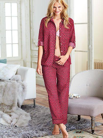 Dreamer Flannel Pajama-$52 & Color: Red Penguins (3W9 ...