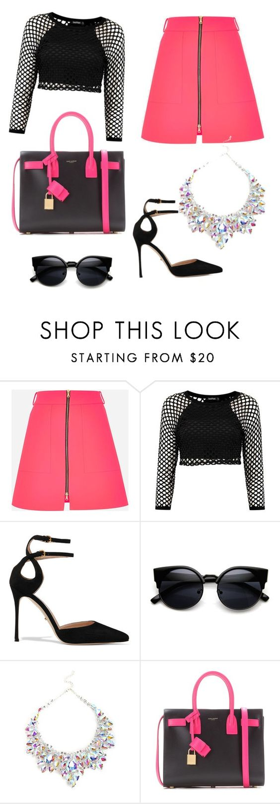 """""""Untitled #3"""" by happiness777 ❤ liked on Polyvore featuring Schönheit, Sergio Rossi und Yves Saint Laurent"""