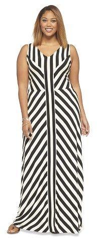 Plus Size Maxi Dress - Ava & Viv for Target #plussizefashion