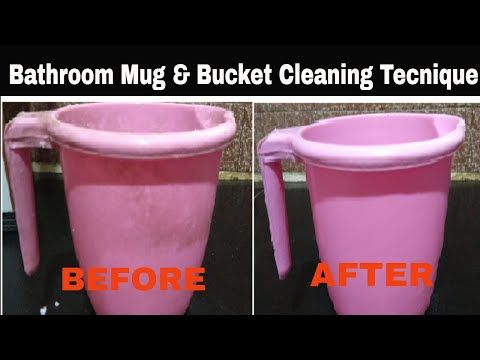 Youtube Cleaning Buckets Mugs Cleaning