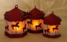 Halloween, Fairy, Pony Carousel, Horse and Carriage and Fairy on the moon.