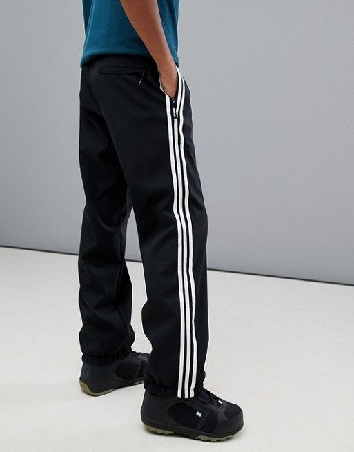 A la verdad tubo Renunciar  adidas - Lazy Man - Pantalon de snowboard - Noir | ASOS | Mode en ligne,  Snowboard, Man
