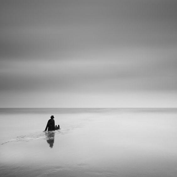 "La mer, ce grand sculpteur"" Jean-Michel Folon Knokke Heist, Belgium"