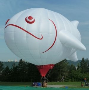 White Fish Hot Air Balloon, posted via specialshapes.nu