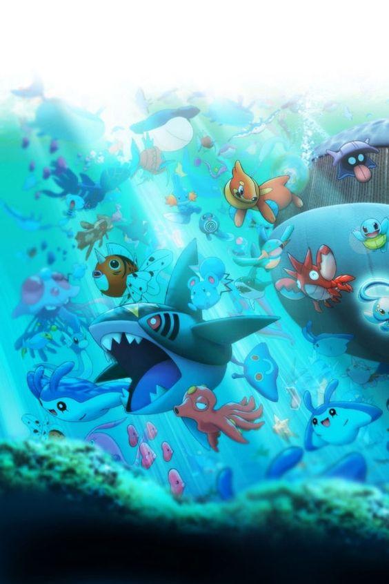 海の中の画像
