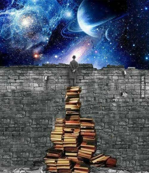 A pile o' books