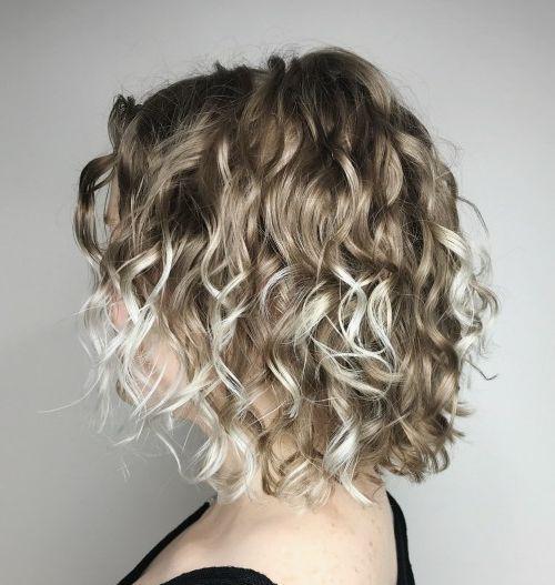 17++ Haircuts for thin curly hair ideas