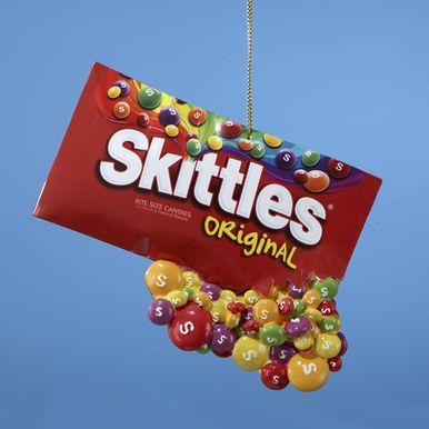 """Kurt Adler 4.5"""""""" Resin Skittles In Paper Bag Ornament #MM2104"""