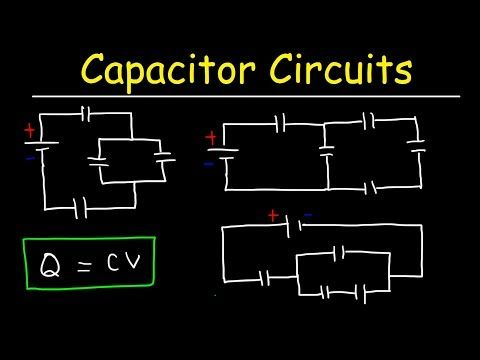 How To Solve Any Circuit Problem With Capacitors In Series And Parallel Combinations Physics Youtube Series And Parallel Circuits Solving Physics