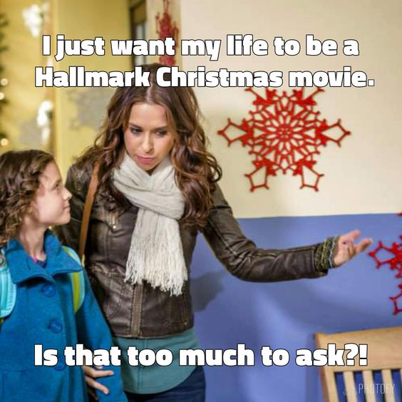 hallmark christmas movie meme