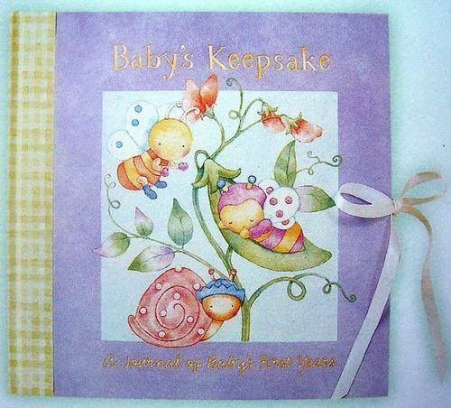 Snuggle Bugs Keepsake memory book, TONS of pages for recording memories. I have matching photo album. BRAND NEW