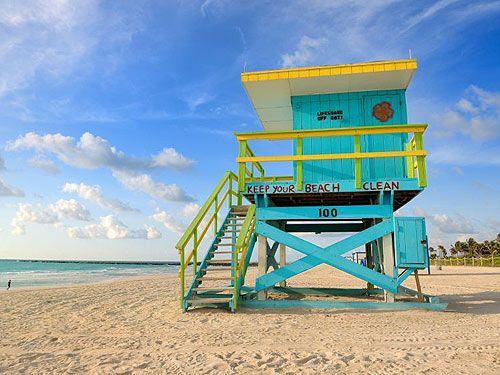 Relaxing on #Miami beach, #Florida.