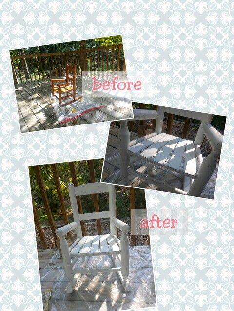 My firs furniture paint ever! Chalk paint lover