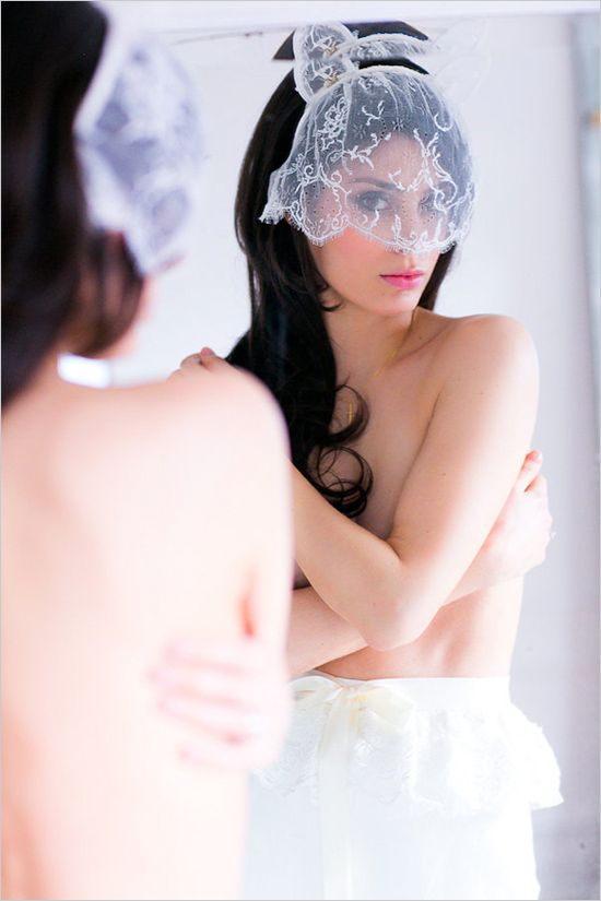 A few lovely boudoir shots while getting wedding ready. Captured By: Le Secret d'Audrey ---> http://www.weddingchicks.com/2014/06/11/tips-for-your-paris-wedding-elopement/