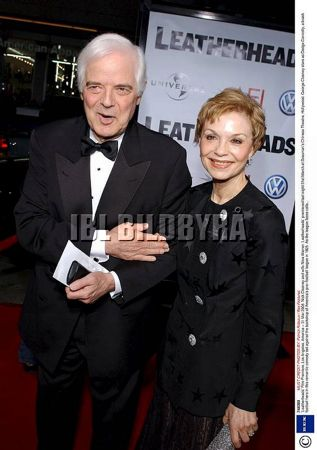 Nick Clooney and wife Nina Warren 'Leatherheads' Film Premiere, Los Angeles, America - 31 Mar 2008
