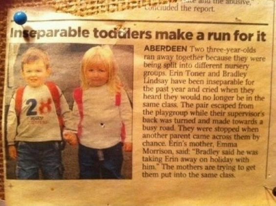 the cutest thing i've ever seen.  why aren't boys still that way... <3: Best Friends, True Love, Funny Picture, Inseparable Toddlers, Young Love