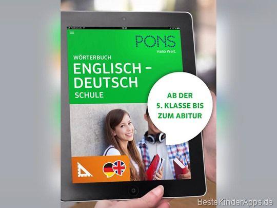 Pons Wörterbuch Schule App (4)