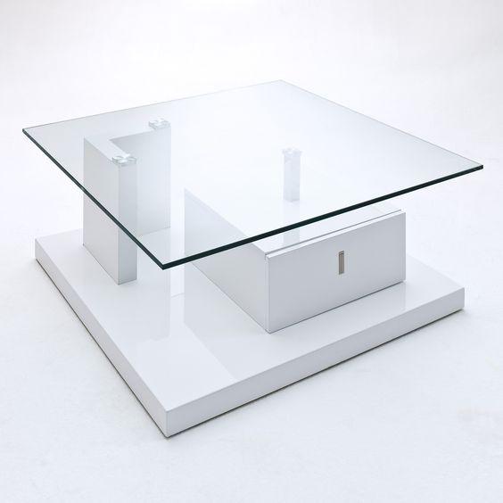 Nachtkonsole Weiß Hochglanz Mit Glasplatte ~ Die neuesten ...