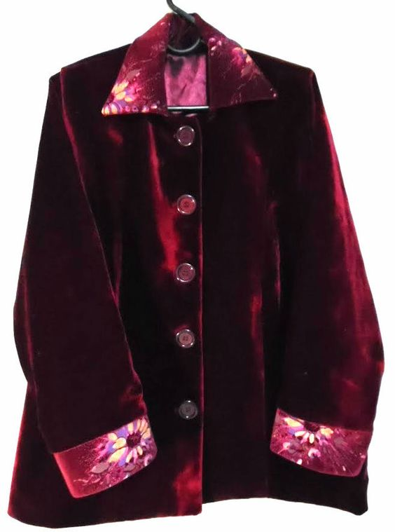 Luciana Costa Alfaiataria Sob Medida Casaco de veludo Velvet Coat