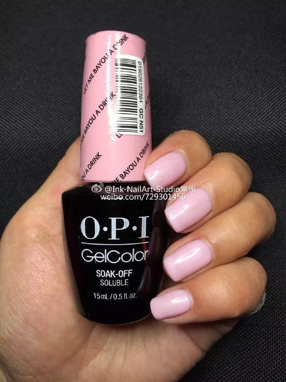 Opi New Orleans Opi Gelcolor Pinterest Spring 2016 Pink And Opi