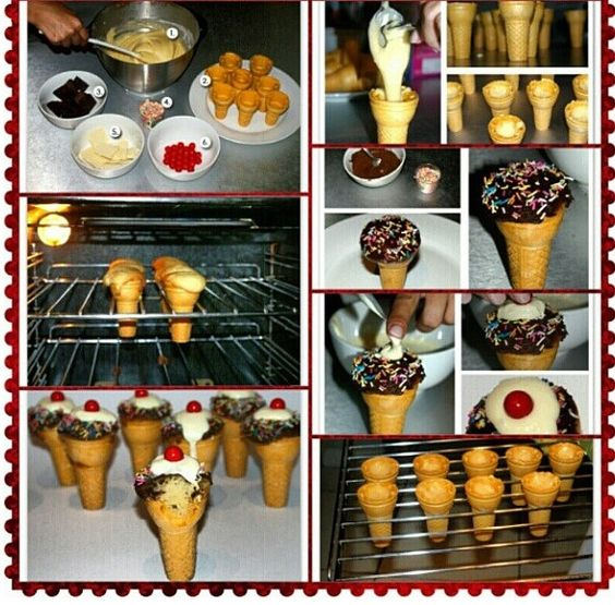 DIY icecream cupcakes