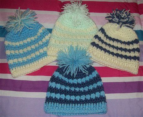 Free Crochet Pattern Baby Pom Pom Hat : Pinterest The world s catalog of ideas