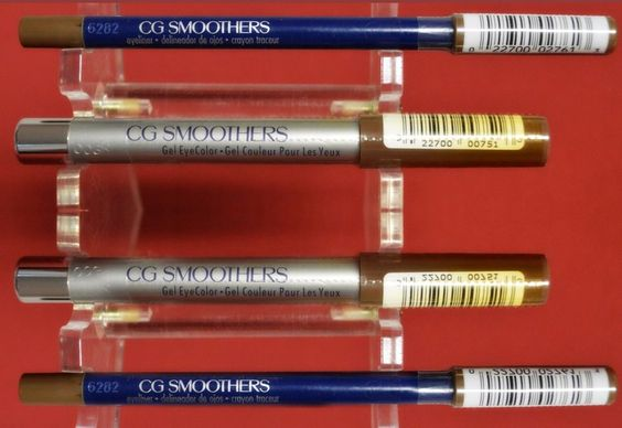 NEW CG SMOOTHERS GEL EYE COLOR HOT COCOA & EYELINER IN KHAKI #CoverGirl
