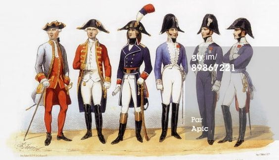 Photo d'actualité : Uniforms of french army Military Administration... 1831-87