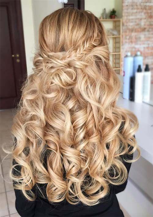 51 Chic Lange Lockige Frisuren Wie Man Lockiges Haar Style Lockige Frisuren Lockige Haare Stylen Frisuren