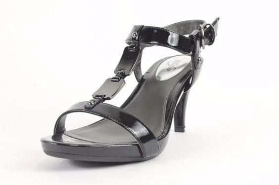 Alfani Krissy Black Heeled Sandals