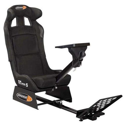 Playseat GT5 Revolution Video Game Chair PST1052: Upholstered With Black  Alcantara Fabric.Ultra High Density Foam.Foldable Seat Is Similar In Look U2026