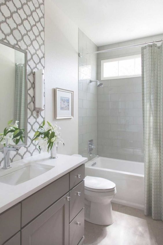 Small Bathroom Tub Shower Combo Diy Home Decor Ideas Pleasant In