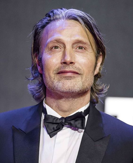 Mr Mikkelsen *swoon* and his always crooked bow tie. Bless 'em