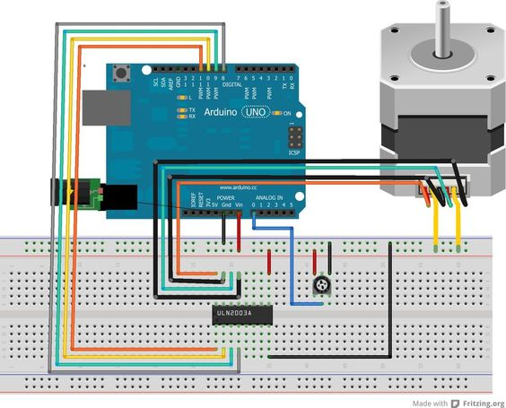 Stepper Motor Uln2003 Driver Board For Arduino Google