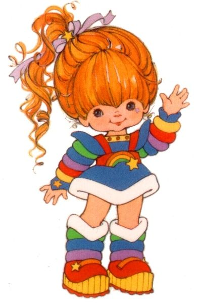 Rainbow Brite!  Saw this movie w/ Angie & Kristin at the old Terrace at Friendly!