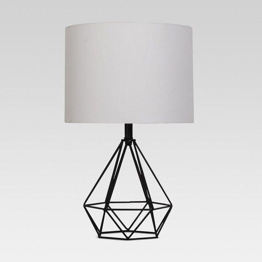 Rewardstyle Entenza Wire Table Lamp Includes Cfl Bulb Black Project 62 Decoracao Projetos De Casas Casas