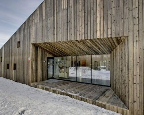 Fagerborg Kindergarden / Reiulf Ramstad Architects | Facades, Architecture  and Wood facade