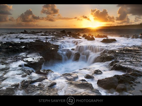 Pools of Mokolea Sunrise (explored) | by Steph Sawyer Photography (on and off)