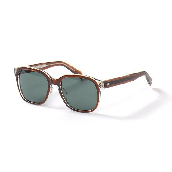 nonnative Drifter Sunglasses by Kaneko Optical.