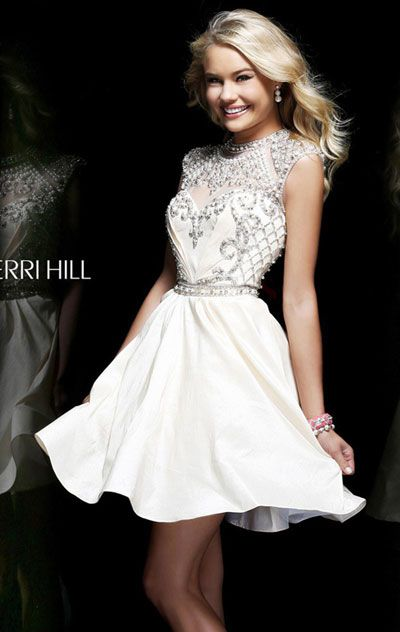 Sherri hill, Ivory and Tulle on Pinterest