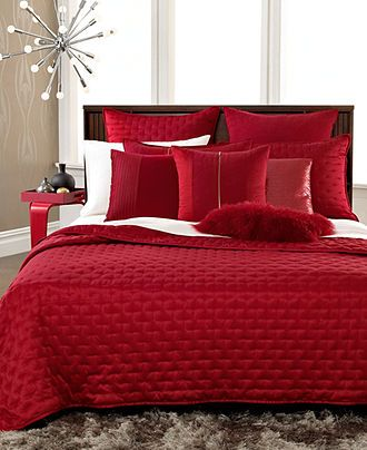 if you would want a red coverlet instead of grey?