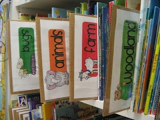 2care2teach4kids: Classroom Design  I like the dividers for book storage.
