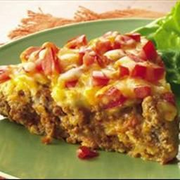 Impossibly Easy Taco Pie (Gluten Free) on BigOven: No taco shells are ...